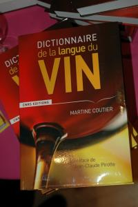 Dictionnaire de la langue du vin